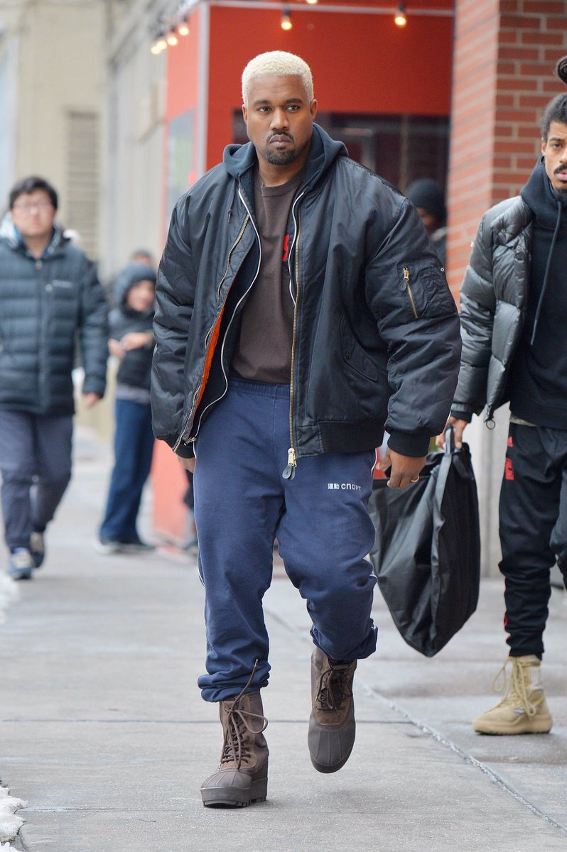 Phresh Nation Kanye West New Hair Style Is Dragon Ball Z