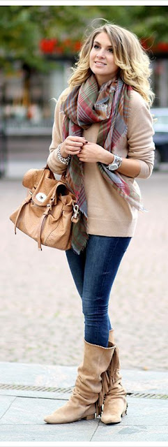 You are warm and stylish during the cold days of winter or fall.