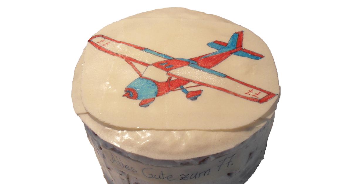 Wundertorten: Flugzeug-Kuchen