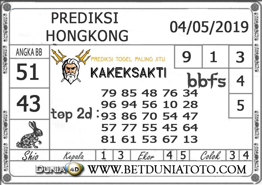 Prediksi Togel HONGKONG DUNIA4D 04 MEI 2019