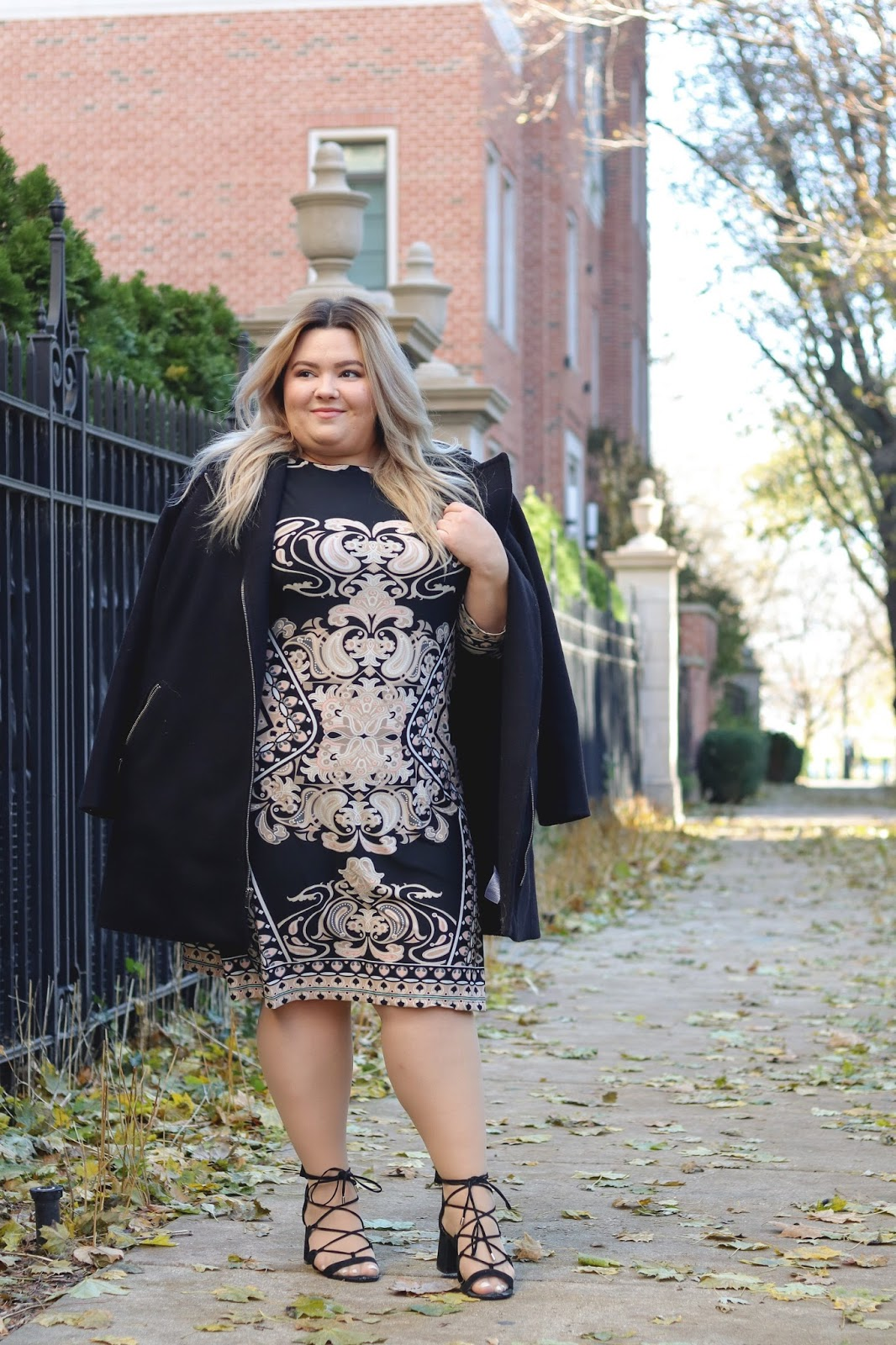 plus size fashion blogger, chicago blogger, chicago fashion blogger, natalie craig, natalie in the city, chicago plus size fashion blogger, fashion blogger, just my size, JMS, form fitting plus size clothing, affordable plus size clothing, plus size dresses, flattering plus size dresses, curves and confidence, fatshion