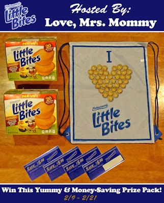 Enter the Entenmann's Little Bites Giveaway. Ends 2/21
