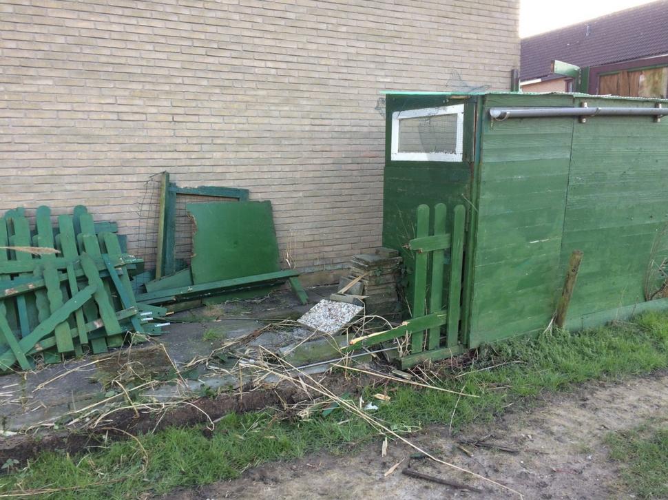 Hekjes Voor Tuin : Moestuin maandag rommel uit de tuin afgevoerd zuinigeman