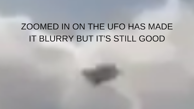 UFOs are whizzing past this plane all around it is unbelievable.