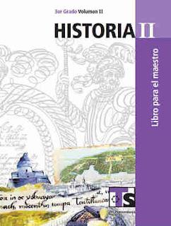 HistoriaII libro para el MaestroVolumen II–Tercer gradoLibro de texto de Telesecundaria2017-2018