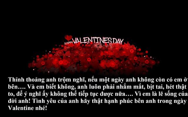 Lời chúc ngày lễ tình nhân Valentine 14-2 hay nhất