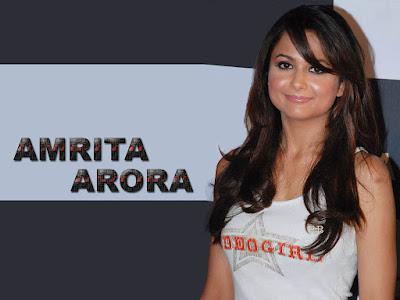 Hot Amrita Arora Navel HD Wallpapers
