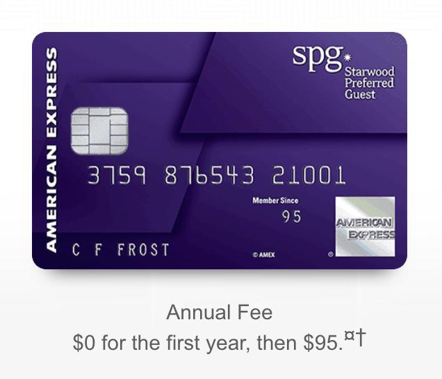 American Express SPG 信用卡详解