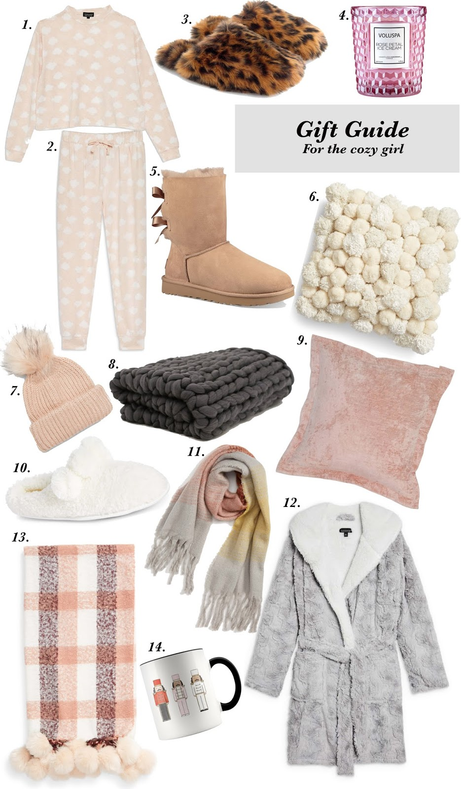 Gift Guide for the Cozy Girl - Something Delightful Blog