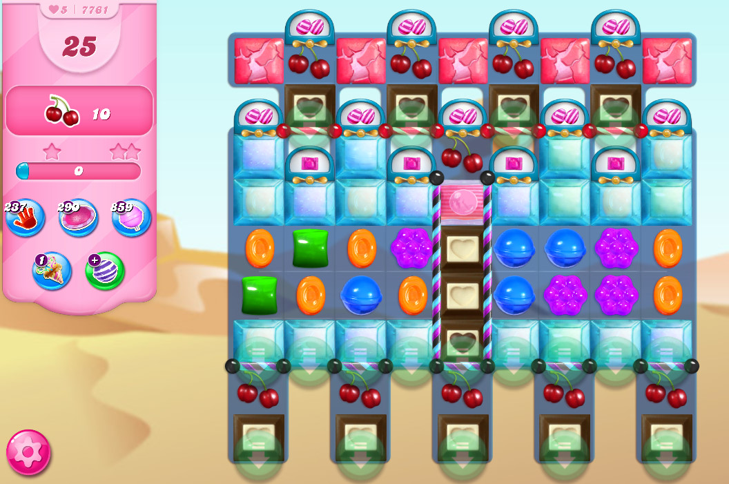 Candy Crush Saga level 7761