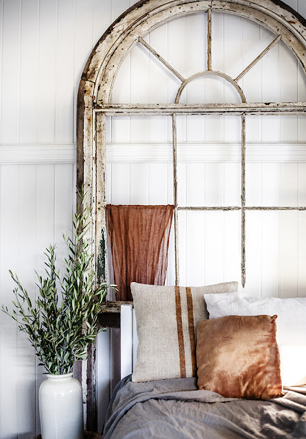 Rustic decor in a cottage by Kara Rosenlund - found on Hello Lovely Studio