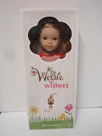 American Girl WellieWishers Willa Doll Hair Brown Eyes New Blue Book