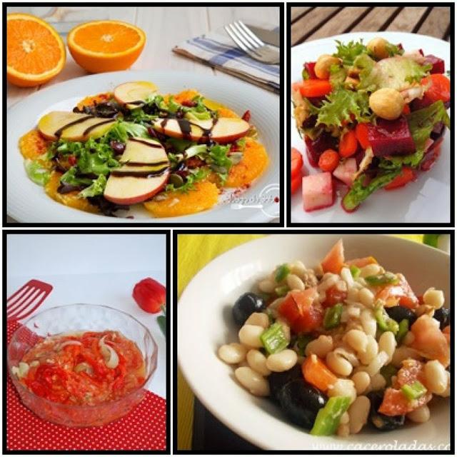 ensaladas variadas