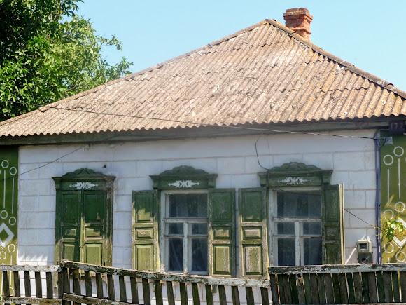 Васильківка. Район Низ. Вулиця Соборна. Будинки