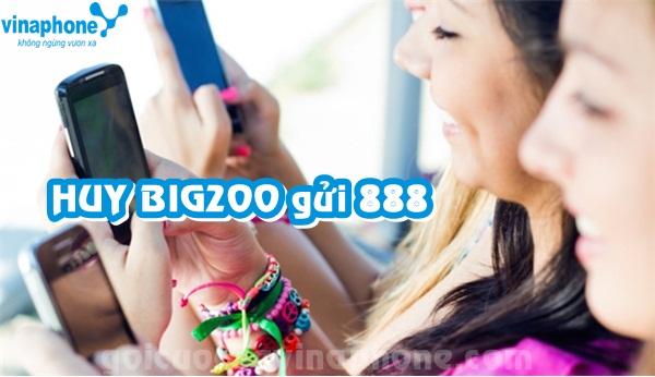 Hủy gói 3G Big200 Vinaphone bằng tin nhắn gửi đến 888 miễn phí