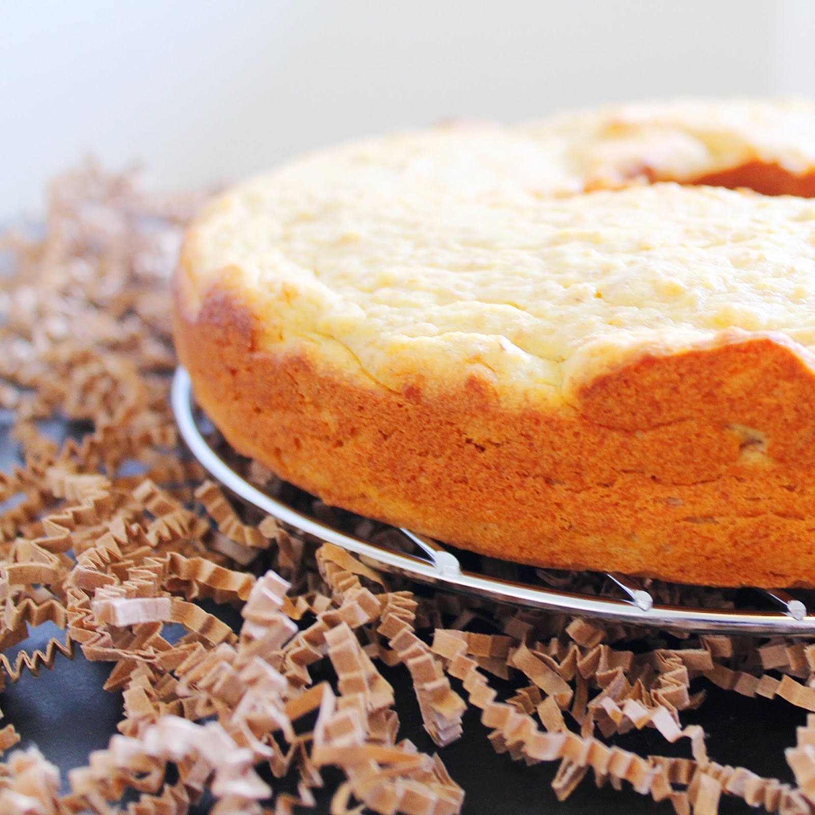Dairy Free Orange Bundt Cake Recipe