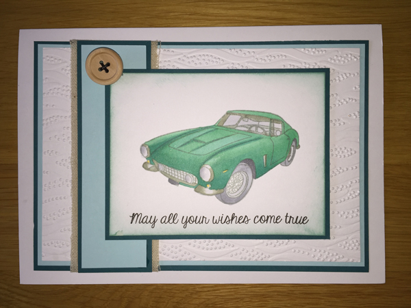 Green Car card
