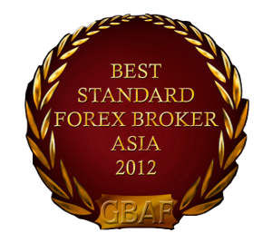 anugerah exness, exness award Best Standard Forex Broker Asia 2012 Global Banking & Finance Review