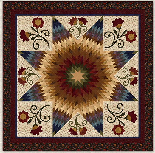 Autumn Song Janet Quilt Free Pattern