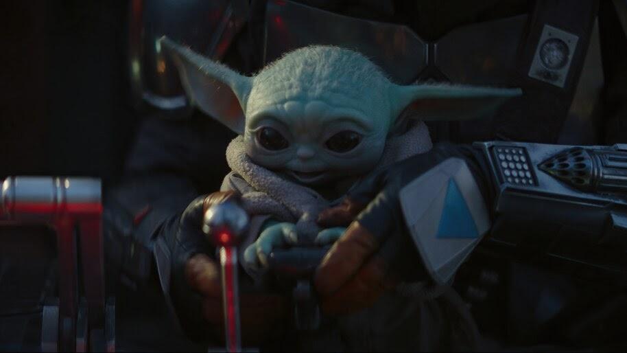 Baby Yoda, The Mandalorian, 4K, #5.1599