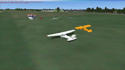 Thame airfield on FSX