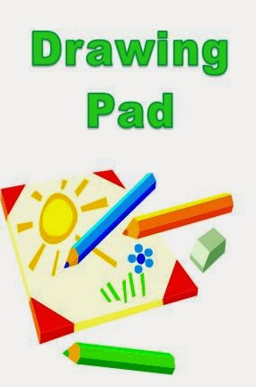 DIY drawing pad cover.