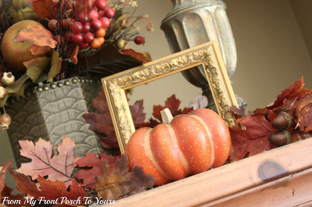 From My front Porch To Yours- Fall Decorating