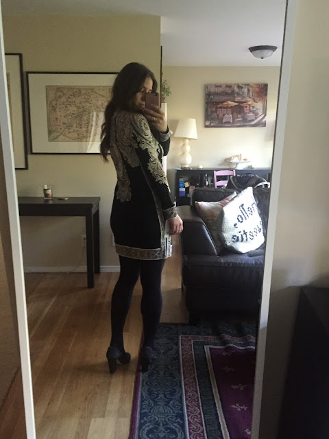 Cassidie Dress, work dress, Fall Dress, Stitch Fix, Unboxing, Night Out Dress