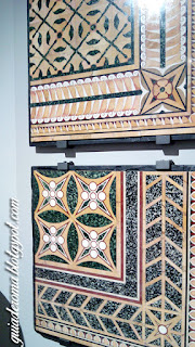 guia de roma portugues palatino opus sectile - Museu do Palatino de Roma