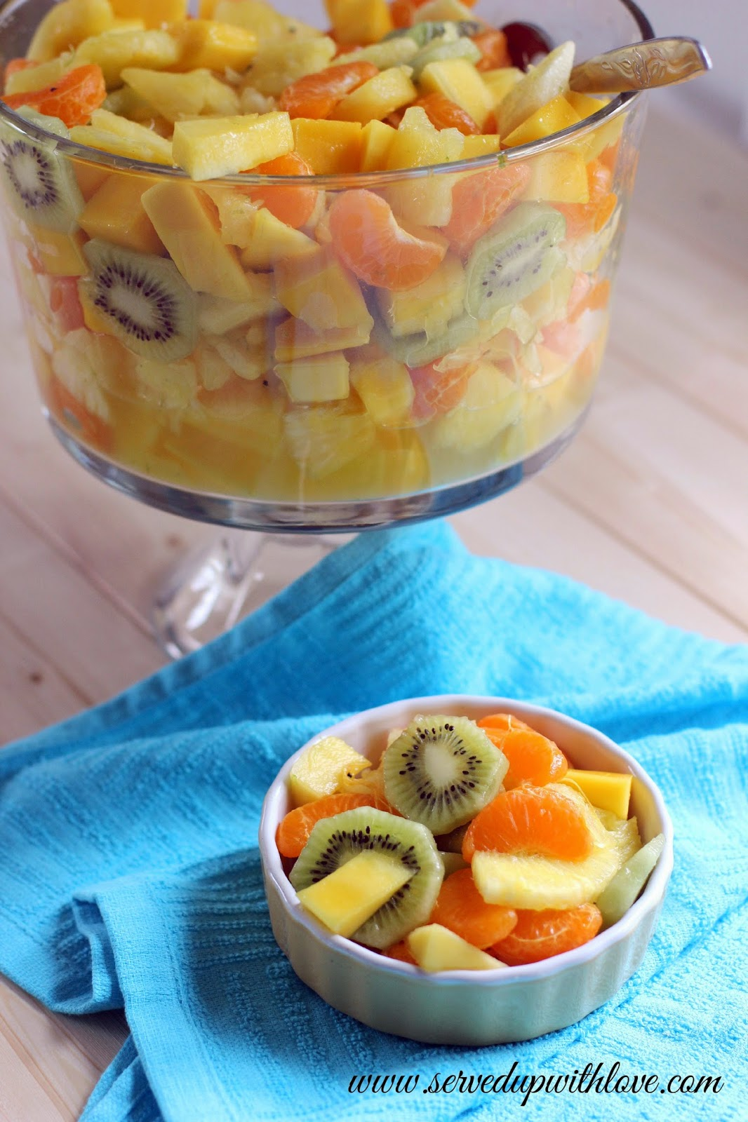 Served Up With Love Tropical Fruit Salad