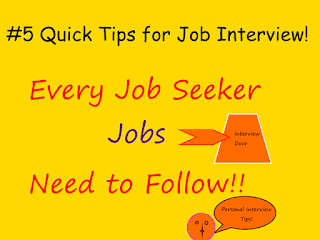 Best Interview Tips for job