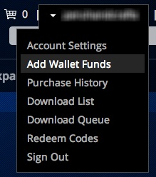 how to add to wallet on ps4