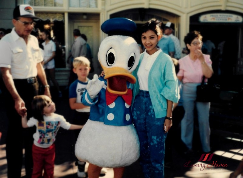 walt disney california disneyland donald duck
