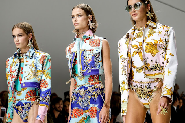 Versace Ready-to-wear Spring Summer 2018 Milan Fashion Week