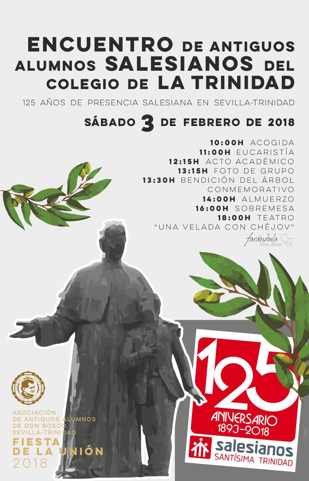 Encuentro Antiguos Alumnos Salesianos Colegio de la Trinidad