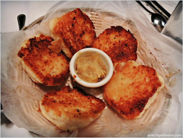 Grilled Buttermilk Biscuits with Honey Butter