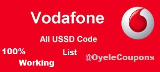 Vodafone All USSD Codes