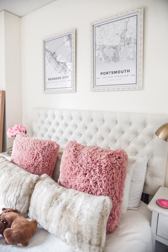 The Classic Brunette Seattle Apartment Bedroom Tour