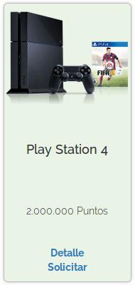 Premio de Play Station 4