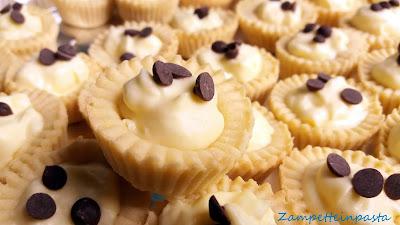 Mini tartellette con crema pasticcera