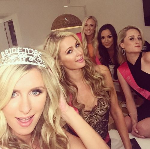 Paris Hilton is perfectly happy Her sister Nicky Hilton marries