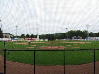 Home to center, Russell E. Diethrick Jr. Park
