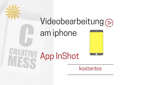 Videobearbeitungs-App inshot am iphone