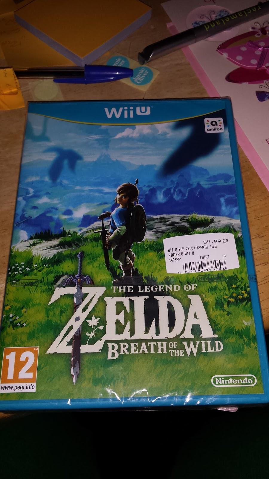 Zelda: Breath of the Wild ya se vende en alguna tienda de Holanda