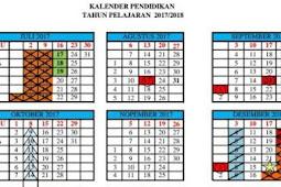 Download Kalender Pendidikan Tahun Ajaran Baru 2017 - 2018
