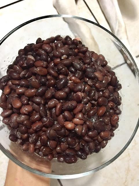 alubias negras cocidas