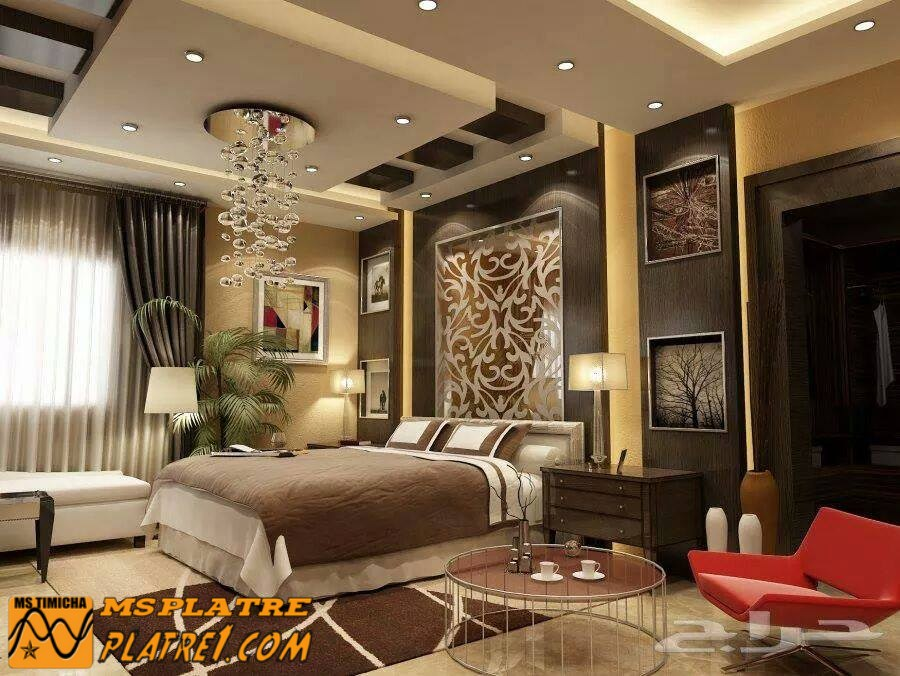 faux plafond platre chambre a coucher image sur le. Black Bedroom Furniture Sets. Home Design Ideas
