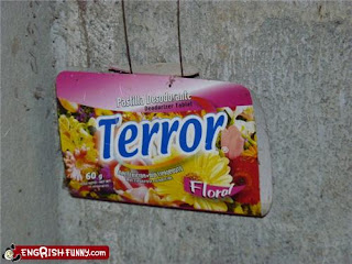terror floral deodorizing lozenges funny product
