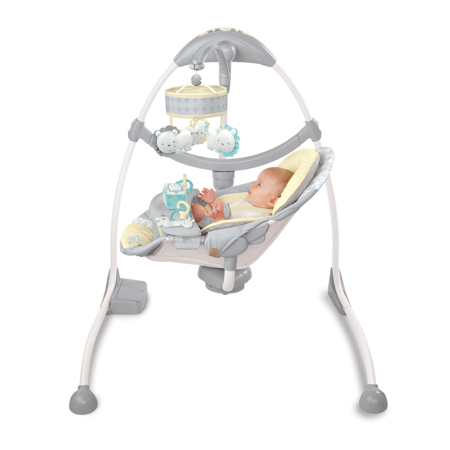 bright starts high chair leather campaign ingenuity smart and quiet swing manual