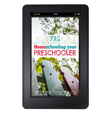 how to homeschool a preschooler ebook Q&A